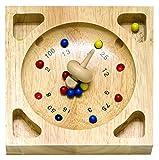 Roulette Spiel - aus Holz - incl. Holzkasten - Holzroulette