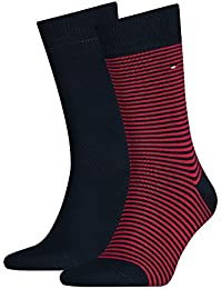 Tommy Hilfiger Th Men Small Stripe Sock 2p - Calcetines Hombre
