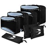 BERSKYER #1 Packing Cubes Set für Kleidung & Zubehör, Packwürfel & Organizer für Koffer & Rucksack, Kleidertaschen & Packtaschen für Reisegepäck