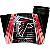 NFL Atlanta Falcons 16-Ounce Slimline Tumbler with Color Lid