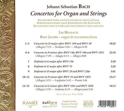 Zoom IMG-1 concerti per organo e archi