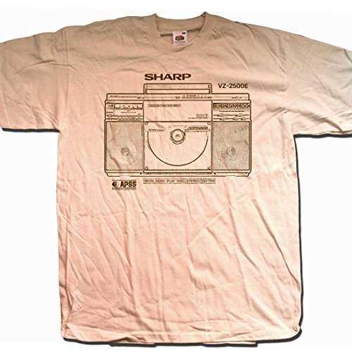 Sharp VZ2500 Ghetto Blaster T Shirt (XXL)