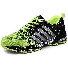 Bravover Zapatillas de Deporte Hombres Zapatos de Gimnasia Para Caminar de Peso Ligero Zapatillas de Deporte