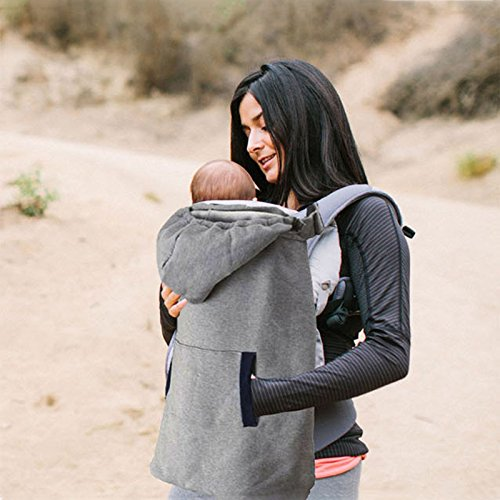 villexun Baby Carrier, Winter Warm Baby Carrier Bezug winddicht Baby Rucksack Carrier Umhang Decke mit warm Pocket