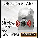 b1d intermitente timbre de alerta de llamada de teléfono teléfono Amplificador de altavoz con problemas de audífonos dispositivo de para personas mayores/ruidosos Oficina/Warehouse