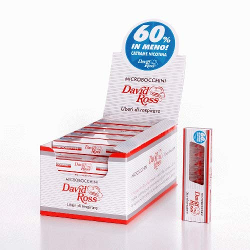 David Ross Zigaretten-Mikrofilter (36 x 10 Stück)