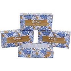 Kleenex Facial Tissue Box, 100 Sheets per Box , 2 Ply, 4 Box Combo, 60036 by Kimberly-Clark