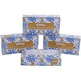 Kleenex Facial Tissue Box, 100 Sheets per Box, 2 Ply, 4 Box Combo, 60036 by Kimberly-Clark