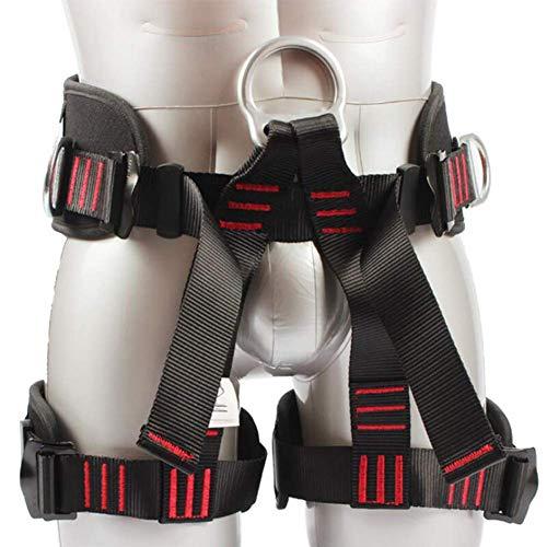 L&wb imbracatura arrampicata imbrago corpo imbracatura per cintura di sicurezza per alpinismo fuoco salvataggio rock cimbing tree climbing