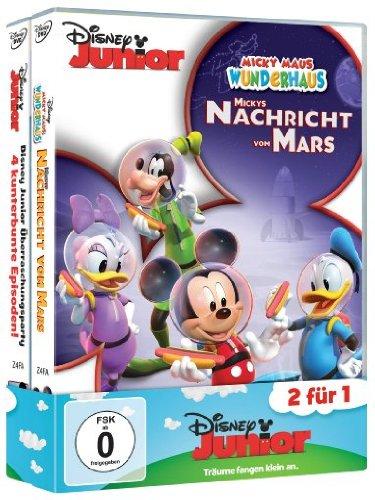 Disney Junior Pack 04: Mickys Nachricht vom Mars + Disney Junior Überraschungsparty [2 DVDs]