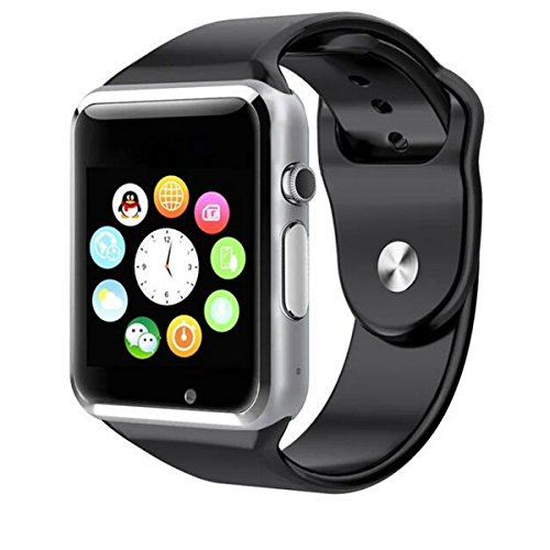HealthMax HT A1 Silver Smartwatch Compatible With Sony Xperia Play Mobiles