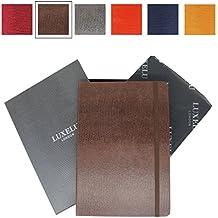 Cuaderno A5 de lujo de Luxelu London, con acabado de autor, en una bonita caja de regalo