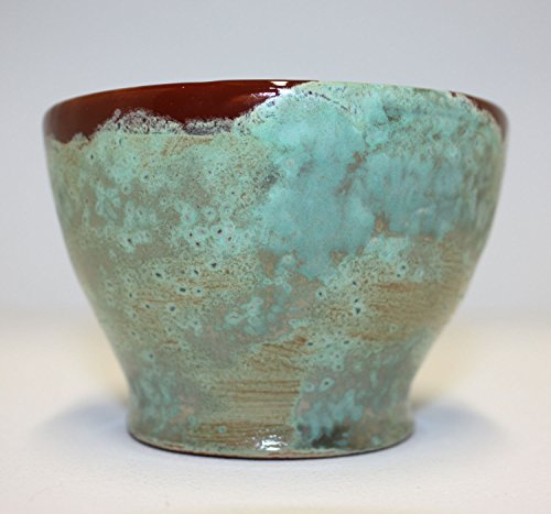 beautiful-little-metallic-variegated-green-bowl-with-dark-brown-rim-and-interior