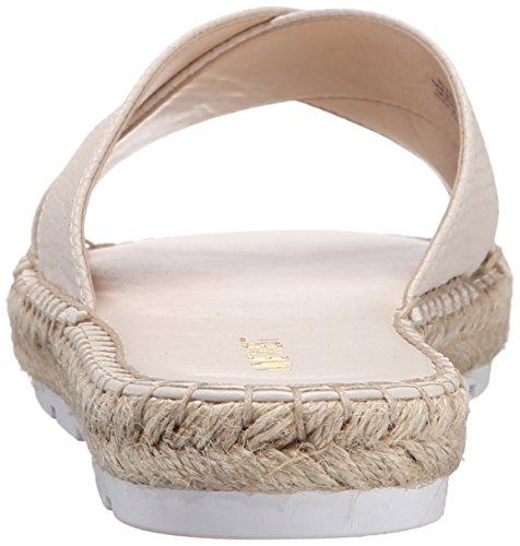Nove in pelle occidentale Demetria Dress Sandal Off White