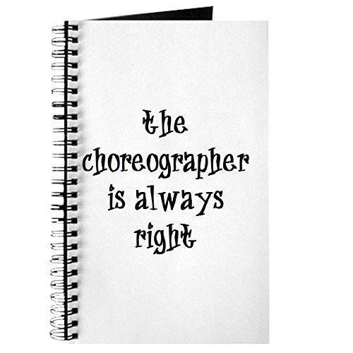 CafePress–choreografin immer Recht–Spiralbindung Journal Notebook, persönliches Tagebuch, Dot Grid (Chorus Liste)