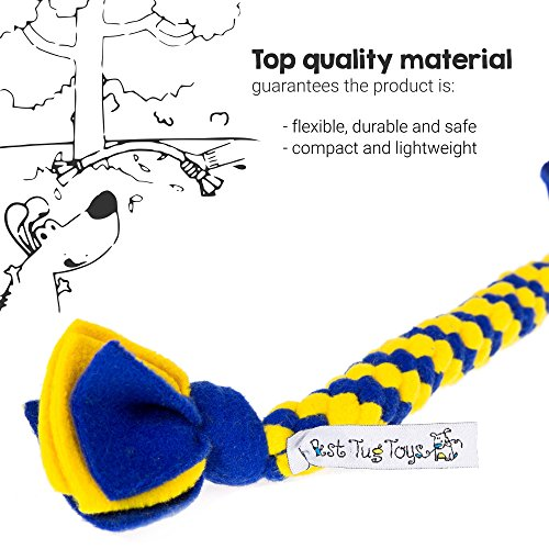 Best-Tug-Toys-Top-Quality-Fleece-Handmade-Rope-Toy-Flexible-Durable-Easy-Clean-Made-in-the-EU-approximately-14-inch
