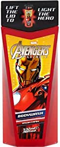Marvel Avengers Hero Ironman Lite Up Bodywash 532 ml - Pack of 2