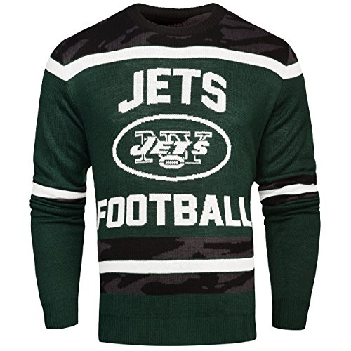 Forever Collectibles NFL Glow in The Dark Ugly im Dunklen leuchtender Pullover, Unisex