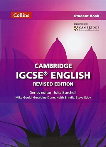 Cambridge IGCSE English Student Book (Collins Cambridge IGCSE English) by Keith Brindle (2013-05-01)