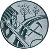 Pokal Emblem Feuerwehr - 50 mm/gold