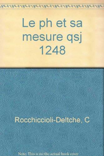 Le Ph et sa mesure