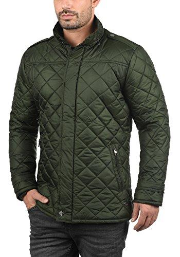 !Solid Safi Herren Steppjacke Übergangsjacke Jacke Mit Stehkragen, Größe:S, Farbe:Rosin (3400) - 2