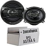 Opel Astra G - Pioneer TS-A1333i 13cm 3-Wege Lautsprecher - Einbauset