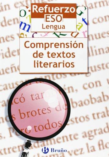 Refuerzo Lengua ESO Comprensión de textos literarios (Castellano - Material Complementario - Refuerzo Lengua Eso) - 9788421655122