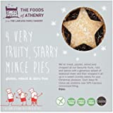 The Foods Of Athenry 4 Very Fruity Starry Mince Pies, 280g