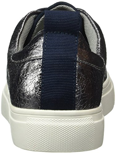 Another Pair of Shoes Taliae1, Baskets Basses Femme Bleu (Dark Blue/Pewter1766)