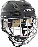 CCM resistencia 110Hockey casco Combo [Senior], negro