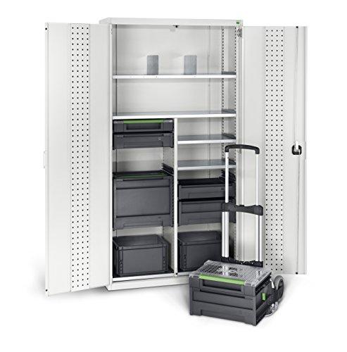 bott varioSafe L Tragebox mit Trennwand, 454 x 318 x 188 mm, 62511042.19V - 8
