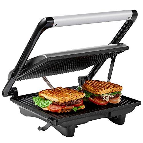 Aicok GT-02, piastra e tostiera per panini e bistecchiera elettrica da 2000 W