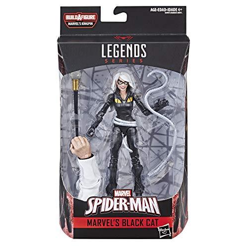 Hasbro Spider-Man Legends Series 6-inch Marvel's Black Cat