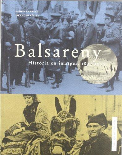 Descargar Libro Balsareny: Història en imatges: 1897-1975 (Fotografia històrica) de Ramon Carreté