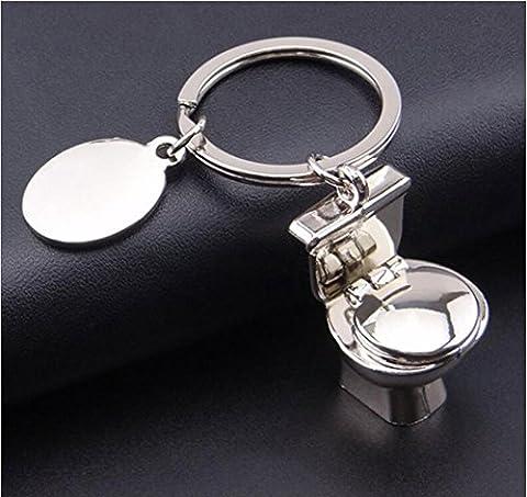 Fashion Creative, Stillshine - porte-clés voiture pendentif femelle perceuse sac suspendu coréen style Wind Metal boucle porte-clés mode porte-clés pendentif mignon sac à main cadeaux (Style6)