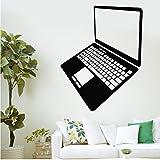 Mhdxmp LaptopWandaufkleber Computer Gadget Internet Technologie Wandbild Kunst Wandtattoo Shop Büroraum Dekoration56 * 71 Cm