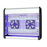 UV Lampada Anti-Zanzara Killer Elettronica Anti Insetti Trappola per Interni ed Esterno Disinfestazione Zapper/Mosche/Insetto