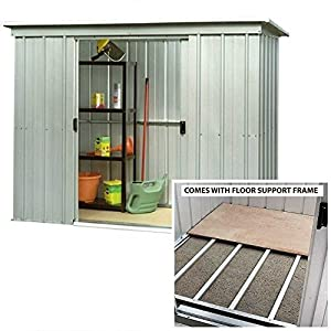 51Wo7cZCEIL. SS300  - Yardmaster 6 x 4 Metal garden Shed With Steel Floor Support Frame