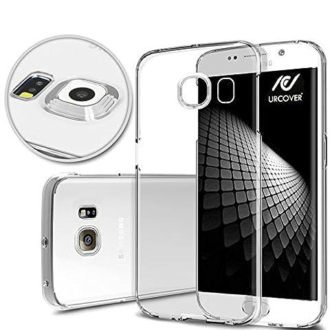 Urcover® Samsung Galaxy S6 Edge Plus [ KAMERASCHUTZ ] Handy Schutz-Hülle | TPU / Silikon Handyhülle Klar | Flexibel Ultra Slim Dünn | Smartphone Zubehör Back-Case | Soft Crystal Cover