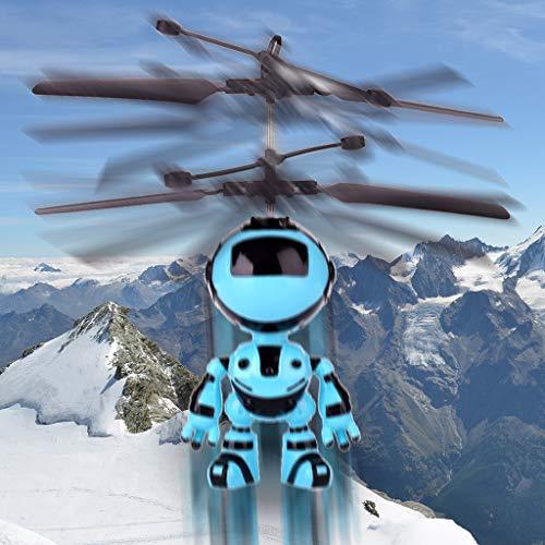Mitlfuny RC Quadrocopter Drohne,Fliegen Mini RC Infraed Induktion Das Roboter-Blinklicht spielt für ()