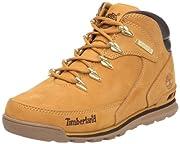 Timberland Earthkeepers Euro Rock Escursionista, Uomo Scarponcini Chukka - Da uomo vera pelle tomaia scarpe da trekking - Uomo Timberland Scarponcini Grano Nubuck - Timberland Euro Rock Escursionista
