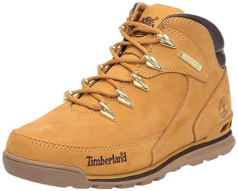 Timberland Hiker_Euro Rock Hiker, Herren Halbschaft Stiefel, Braun (Wheat Nubuck), 41 EU (7 Herren UK)
