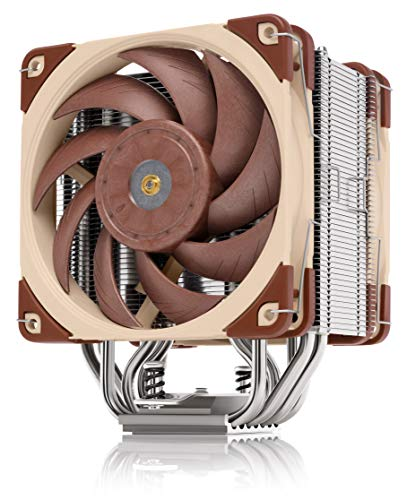 Noctua NH-U12A, Ventirad CPU Premium avec Ventilateurs NF-A12x25 PWM Ultra Performants (120 mm, Marron)