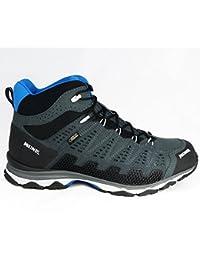 Meindl–Zapatos de Senderismo Guantes X de So 70MID GTX Antracita de color azul