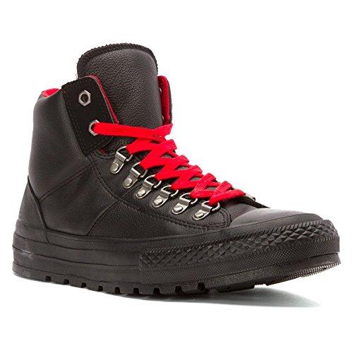 Converse CT AS Hi Street Hiker Leather Black Black Noir - Noir