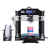 ALUNAR Aufgerüstetes DIY Desktop 3D Printer Repover Prusa i3 Kit, Hochpräzise Selbstmontage Tridimensional FDM Printer, Mehrfarbendruckmaschine-EU