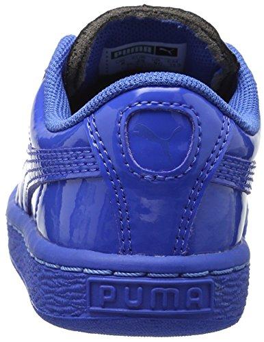 Puma Basket Classic Patent Jr Synthétique Baskets Puma Royal-Puma Royal