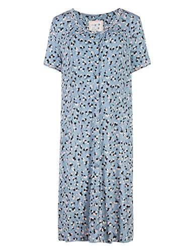 ladies-famous-make-blue-floral-button-through-maternity-nightshirt-sizes-12-and-14-14