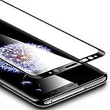 Verre Trempé Galaxy S9 Couverture Complète Noir, ESR Samsung Galaxy S9 Film Protection en Verre Trempé écran Protecteur Ultra Résistant Indice Dureté 9H pour Samsung Galaxy S 9 (Noir) [CLIQUER Paramètres – fonctions avancées – sensibilité au toucher pour augmenter la sensibilité de l'écran tactile]